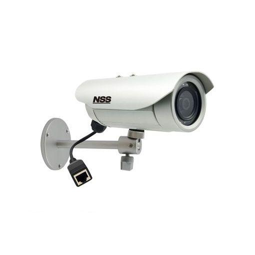 【個数:1個】[NSC-IP1040-3M] 「直送」【代引不可・他メーカー同梱不可】 3メガピクセル防水暗視ネットワークカメラ f=4.2mm 15m(赤外線照射距離) NSCIP10403M