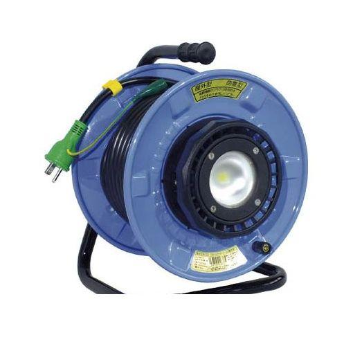 日動工業 [SDWEB2210W] 防雨・防塵型LEDライトリール 486-6240 【送料無料】