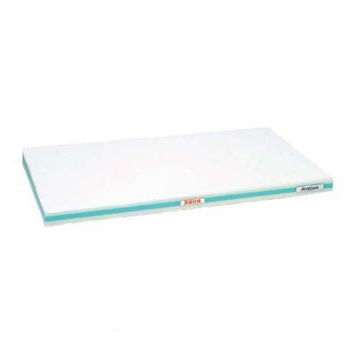 4067113 抗菌かるがるまな板 SDK 600×300×20 ホワイト/緑線 4994808000347