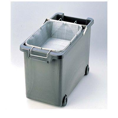 5622500 強化耐熱プラスチック フライヤー用 油缶 カゴ付