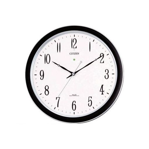 【個数:1個】シチズン 4MY691N19 ネムリーナM691F 電波掛時計 プラスチック枠シルバーメタリック