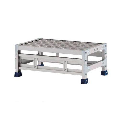 【あす楽対応】【個数:1個】アルインコ CSBC126S 作業台 天板縞板タイプ 1段