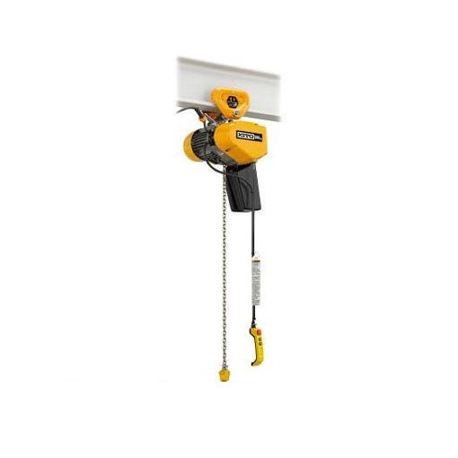 【あす楽対応】キトー[EQSP001IS] EQ形電気チェーンブロックプレントロリ結合形 125kg(IS)×4m【送料無料】