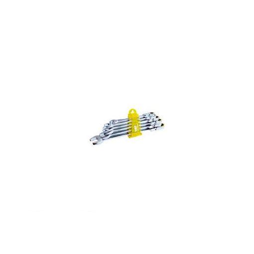 【あす楽対応】TOP FRC6000 6丁組首振りラチェットコンビセット 【送料無料】