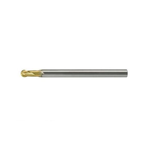 ユニオンツール HSB200060006 超硬エンドミル ボール R0.03×刃長0.06×φ4