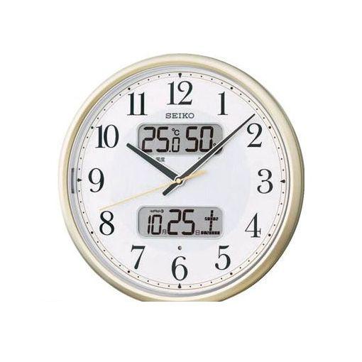 【あす楽対応】SEIKO[KX384S] 電波掛時計 P枠
