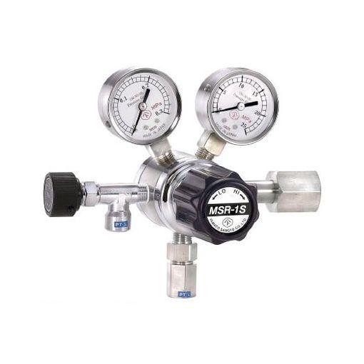 【あす楽対応】分析機用二段圧力調整器[MSR1S13TRC] MSR-1S