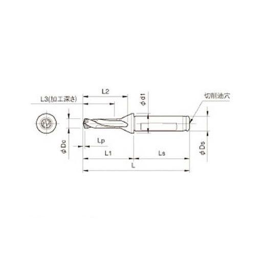京セラ SF25DRC230M3 ドリル用ホルダ 【送料無料】