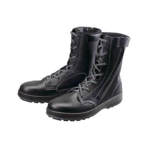 【あす楽対応】シモン WS33C25.5 安全靴 長編上靴 WS33黒C付 25.5cm【送料無料】