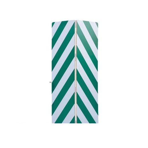 【個数:1個】ワコー WSG144G セーフティーガード白色・緑色448mm×1440mm
