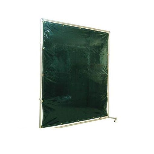 【あす楽対応】【個数:1個】吉野[YS22JFDG] 遮光フェンスアルミパイプ 2×2 接続固定 ダークグリーン【送料無料】