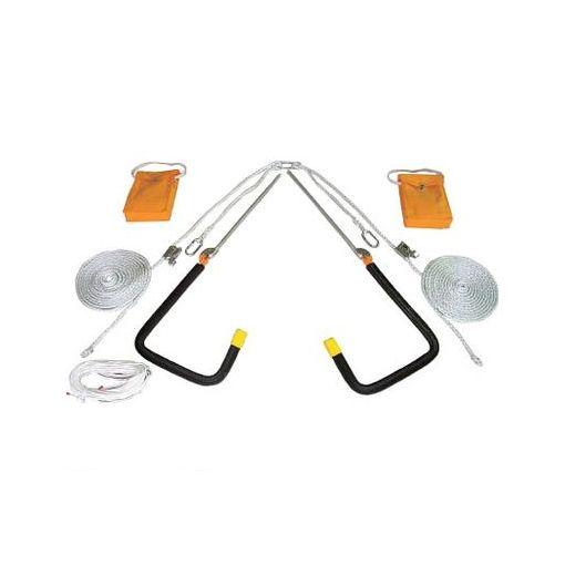 【あす楽対応】ツヨロン[YU300BX] 屋根上作業用 ヤネロップ300型 一式【送料無料】