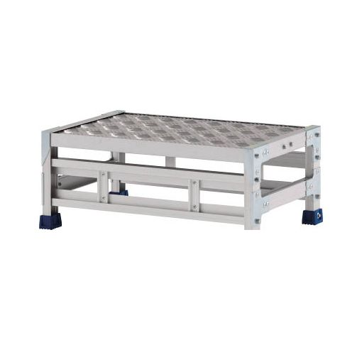アルインコ CSBC121S 直送 代引不可・他メーカー同梱不可 作業台 天板縞板タイプ 1段