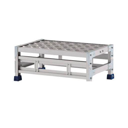 アルインコ CSBC128S 直送 代引不可・他メーカー同梱不可 作業台 天板縞板タイプ 1段