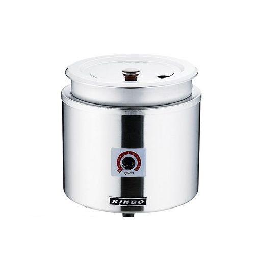 [DSC2601] KINGO湯煎式電気スープジャー 11L D9001 4905001114854 【送料無料】