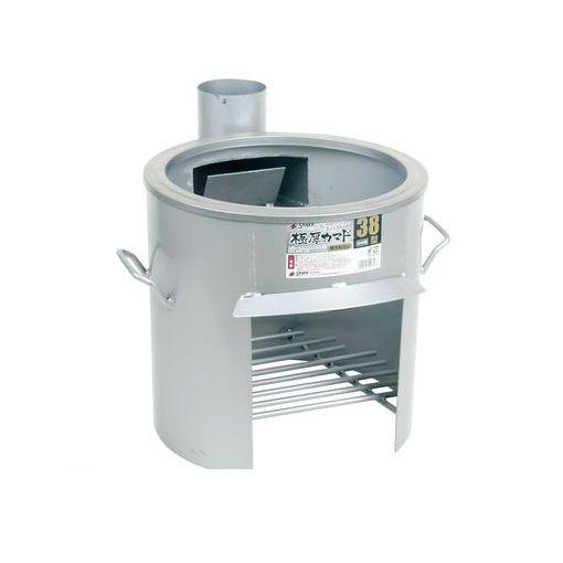 GKM0601 極厚かまど 煙突取付式 鍋受リング付 38型 OSー0659 4990127017578 【送料無料】