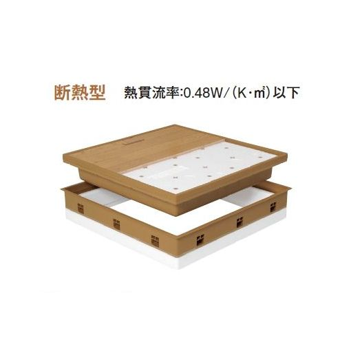 城東テクノ Joto SPF-R60F12-UA1-IV 直送 代引不可・他メーカー同梱不可 高気密型床下点検口 断熱型 600×600 フローリング合わせタイプ 色アイボリー SPFR60F12UA1IV 【送料無料】