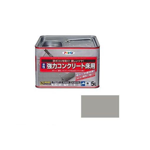 アサヒペン [4970925424419] アサヒペン 水性 コンクリート床用 5L ライトグレー