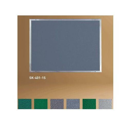神栄ホームクリエイト(旧新協和)[SK-401-2S-REZA-GR] ステンレス掲示板 【サイズ】H550×W800ミリ SK4012SREZAGR