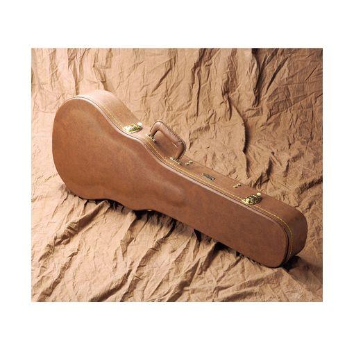 【個数:1個】キクタニ(GATOR) [GW-LP-BROWN] 木製ギターケース LPギター用 ブラウン GWLPBROWN