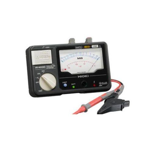 日置電機 IR4030-10 メグオームハイテスタ 3レンジ・L9787付 IR403010