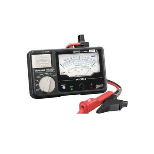 日置電機 IR4042-11 メグオームハイテスタ 4レンジ・L9788-11付 IR404211