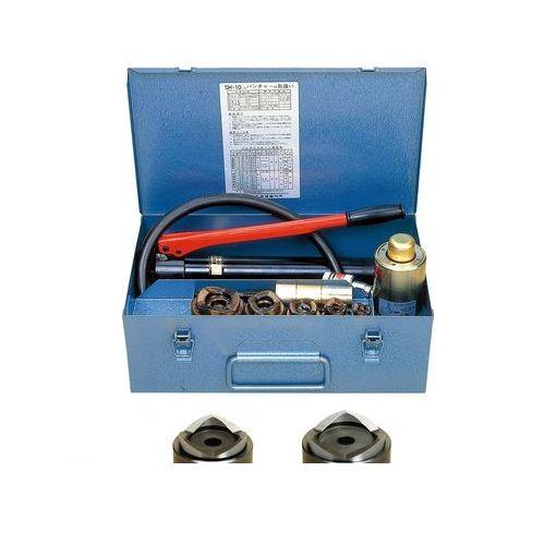 泉精器製作所 [SH-10-1(B)P3] SH-10-1(B)P3 ポンプ付パンチャー厚鋼用 SH101(B)P3