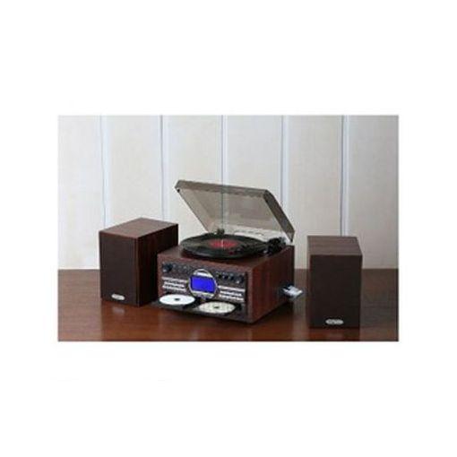 とうしょう [TS-6153] DVDカラオケ録音機能付木製CDコピー多機能プレーヤー TS6153 【送料無料】