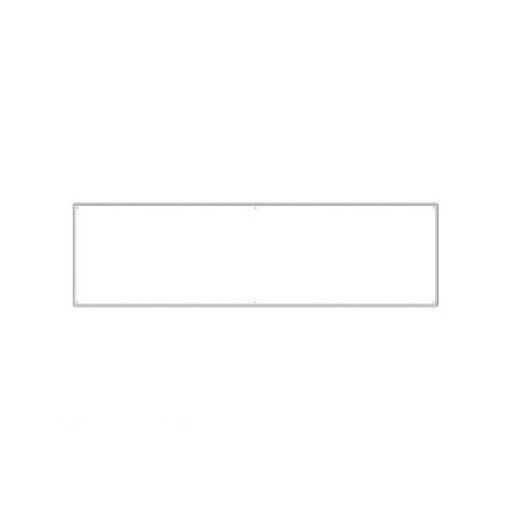 ユニット 30245 薄型許可票3点用ムジパネル アルミ複合板 455×1600×9厚