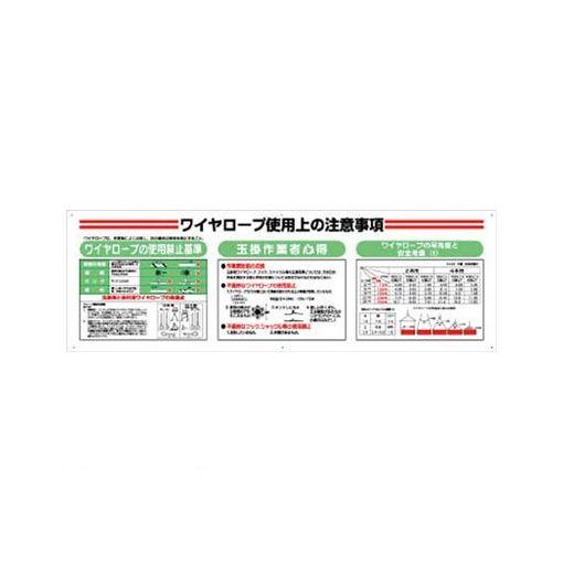 【個数:1個】ユニット 33113A 標識項目セットワイヤーロープ エコユニボード 600×1800