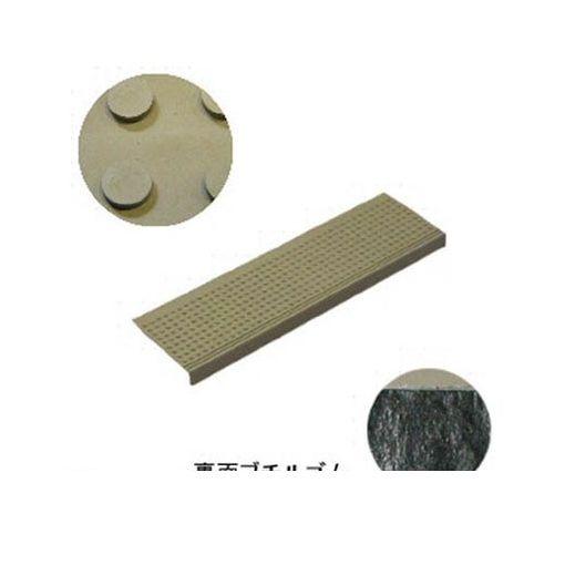ミヅシマ工業 [490046] 消音マット ステップBT1 粘着型 240×810mm グレー【10セット】
