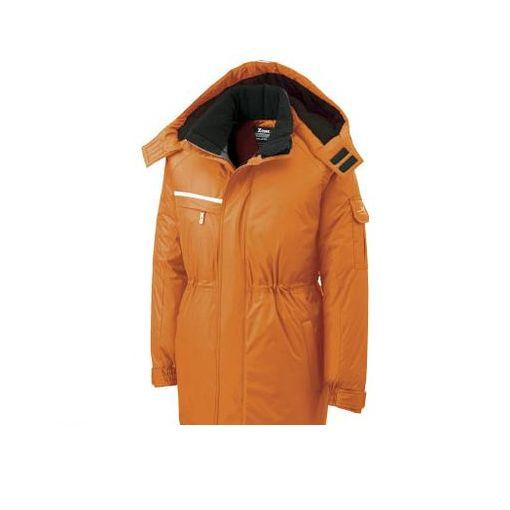 【あす楽対応】【個数:1個】ジーベック 581823L 581581防水防寒コート オレンジ 3L【送料無料】