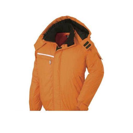 【個数:1個】ジーベック 58282M 582582防水防寒ブルゾン オレンジ M【送料無料】