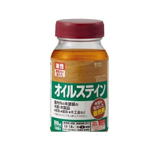 カンペハピオ [780116100] オイルステインA 100ML ウォルナット (12入)