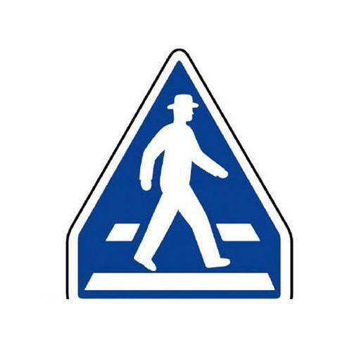 ユニット 89426 指示標識【407-A】横断歩道 アルミ