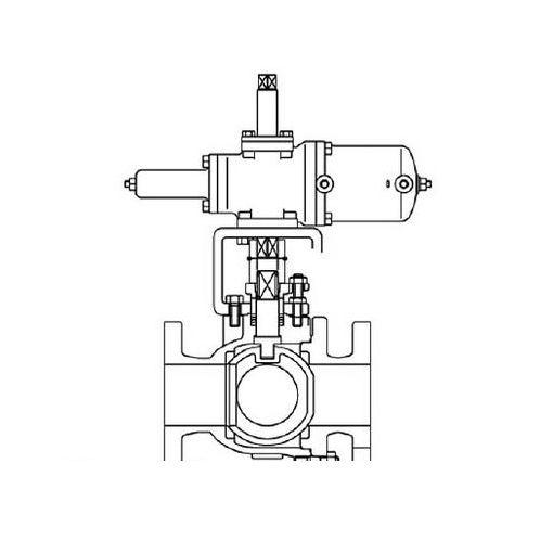 【個人宅配送不可】KITZ B10FCTB2L50 直送 代引不可・他メーカー同梱不可 空圧自動ボール弁