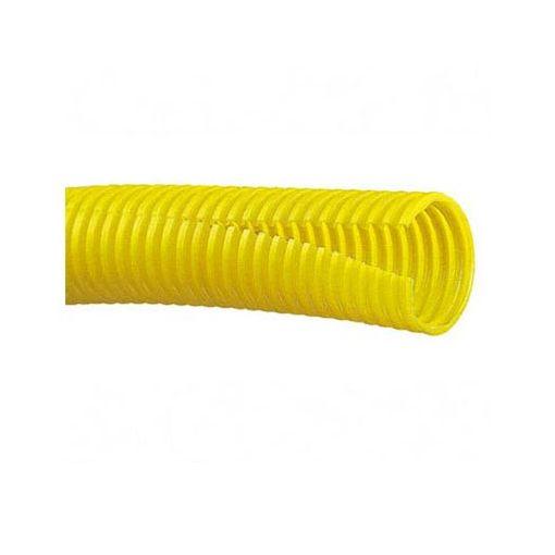 【個数:1個】パンドウイットコーポレーション日本支社 CLT75FC4 コルゲートチューブ ポリエチレン スリット付き 黄
