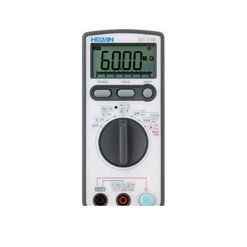 【個数:1個】ホーザン 株 DT-119-TA デジタルマルチメータ【校正証明書付】