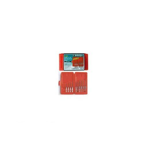 【あす楽対応】トップ工業 [EOD2050S] 六角シャンクコバルトドリルセット【10本組】