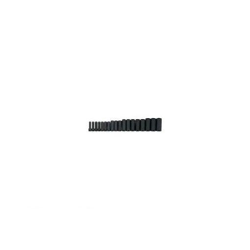 スナップオン・ツール JHWMS1218H 3/8ドライブ ディープソケットセット 6角 18個 インパク【送料無料】
