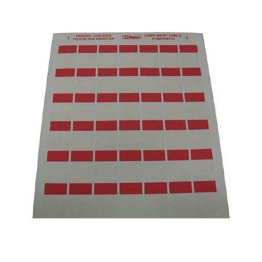 【個数:1個】パンドウイットコーポレーション日本支社 S100X150YHJD レーザープリンタ用セルフラミネートラベル 赤