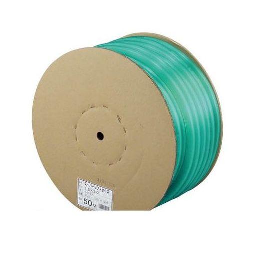 【個数:1個】三洋化成 SUS1823H40G スーパーソフト 18×23 グリーン 40m ドラム巻