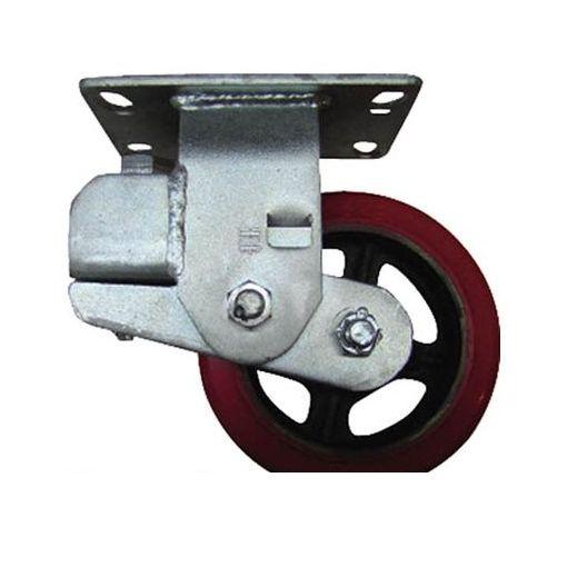 スガツネ工業 [TP150LCABU] 重量用ダンピングキャスター径151固定BU【200ー130ー721