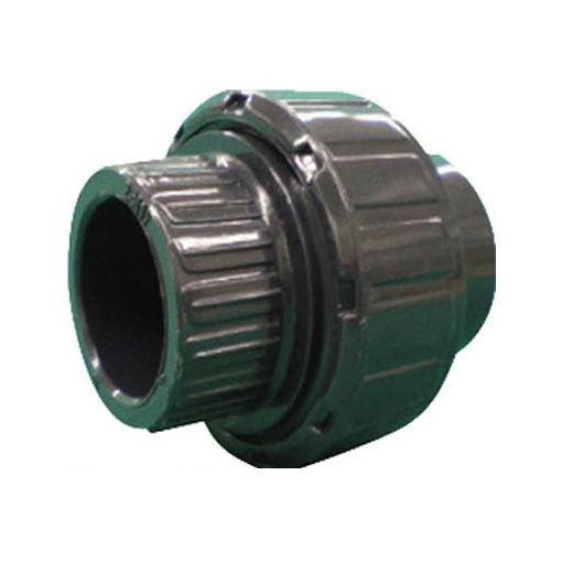 【個数:1個】積水化学工業 UN75S コンパクト型ユニオン継手 PVC/EPDM TS式 75A