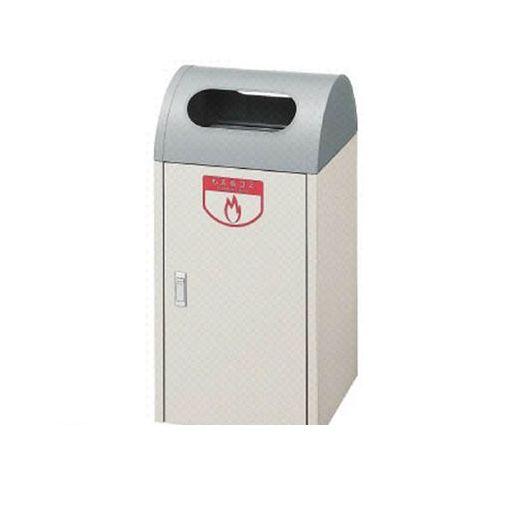 【個数:1個】山崎産業 YW04LID 直送 代引不可・他メーカー同梱不可 【屋内用屑入】リサイクルボックス A-1 アクアグレー 青 【送料無料】
