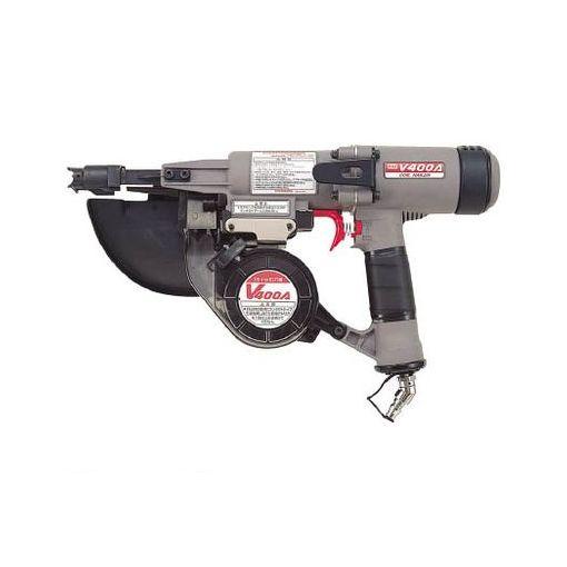マックス CNV400A 直送 代引不可・他メーカー同梱不可 常圧釘打機 65~125mm