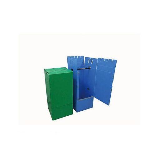 エムエフ HB001 ハンガーボックス 送料無料限定セール中 直営店 樹脂製 ブルー 直送 10入 他メーカー同梱不可 送料無料 代引不可