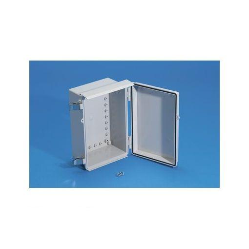 タカチ BCAR608028G 直送 代引不可・他メーカー同梱不可 BCAR型防水・防塵ルーフ付プラボックス カバー/ホワイトグレー・ボディー/ホワイトグレー