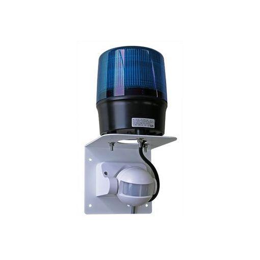 【個数:1個】日恵 VL12R-100NJ2B 直送 代引不可・他メーカー同梱不可 センサー付LED回転灯φ120 ニコトーチ・120【青】 AC100V 人感仕様 VL12R100NJ2B