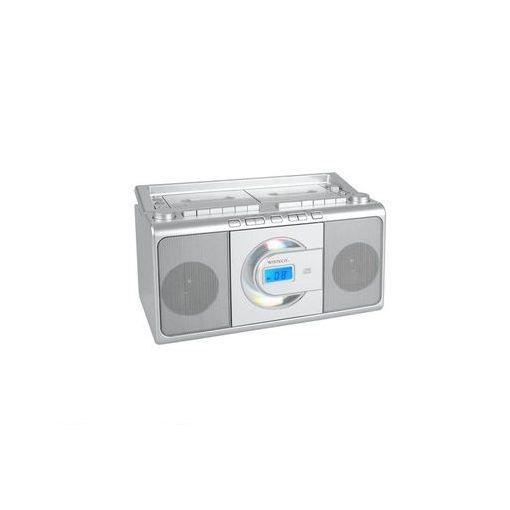 廣華物産(WINTEC) [CDR-W70] WINTEC コンパクトCDダブルラジカセ CDRW70 【送料無料】